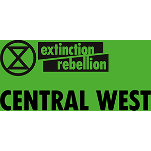 Extinction Rebellion Central West Logo - Bathurst Community Climate Action Network (BCCAN)